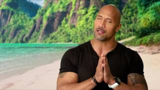 Download Moana: Dwayne Johnson ″Maui″ Behind the Scenes Movie Interview Video