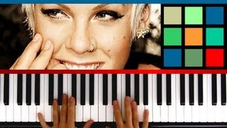 Download How To Play ″Just Give Me A Reason″ Piano Tutorial / Sheet Music (Pink feat. Nate Ruess) Video