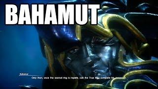 Download FINAL FANTASY XV - Meeting Bahamut Video