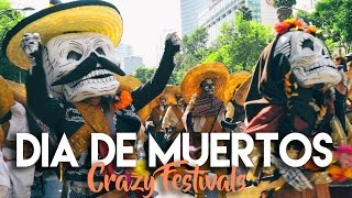 Download DAY OF THE DEAD PARADE MEXICO CITY Video