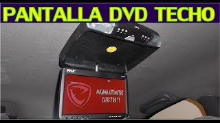 Download Como instalar pantalla DVD de techo en el auto (proceso completo) Video