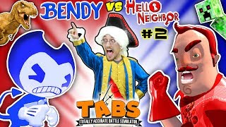 Download HELLO NEIGHBOR BEDTIME STORY Pt 2: TABS COMPETITION - BENDYS vs. MART w/ MINECRAFT (FGTEEV:THE END) Video