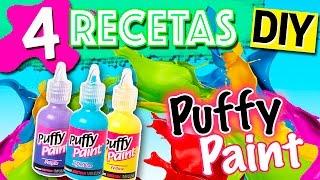 Download Pintura INFLABLE Casera 3D * 4 recetas PUFFY PAINT DIY Video