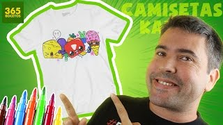 Download CAMISETAS PERSONALIZADAS CON DIBUJOS KAWAII - con marcadores Giotto - facil y barato! Video