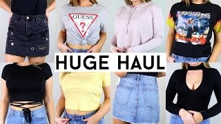 Download HUGE TRY ON CLOTHING HAUL   Urban, Forever 21, Pacsun Video