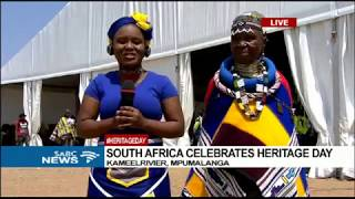 Download Mama Esther Mahlangu on Heritage Day celebrations Video