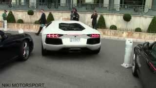 Download Lamborghini Aventador crashes in Monaco! Video
