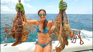 Download Lobstering in Florida! CATCH, Clean, COOK Lobster CEVICHE! Video