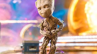 Download GUARDIANS OF THE GALAXY 2 'Baby Groot Dance' Opening Scene + Blu-Ray Trailer (2017) Video