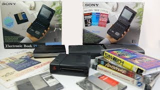 Download e-books in the '90s with Sony's Data Discman Video