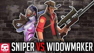 Download SNIPER VS WIDOWMAKER RAP BATTLE by JT Music (Overwatch vs TF2) Video