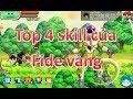 Download Ngọc Rồng Online   Top 4 Skill của Fide vàng Video