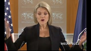 Download Heather Nauert Gets Pissed at Reporters Grilling Her About Jerusalem Video