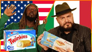 Download Americans & Italians Swap Snacks Video