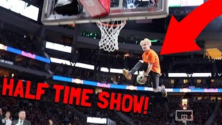 Download I Performed At A NBA Half Time Show!?!? Video
