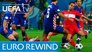 Download EURO 2008 highlights: Turkey beat Croatia on penalties Video