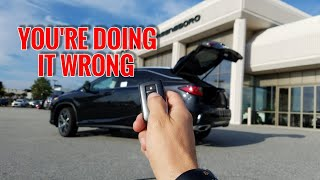 Download 5 SECRETS About The Lexus RX 350 Power Rear Door Video