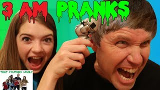 Download 3 AM PRANKS! / That YouTub3 Family Video
