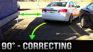 Download 90 degrees Parking - How to Correct Yourself Video