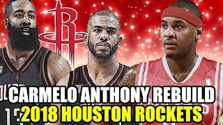 Download REBUILDING THE 2018 HOUSTON ROCKETS! CARMELO ANTHONY + CHRIS PAUL + JAMES HARDEN SUPERTEAM! NBA 2K17 Video