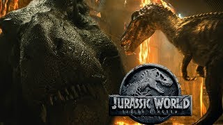 Download New Jurassic World Fallen Kingdom Baryonyx and Tyrannosaurus Teaser Analysis - Is that Suchomimus? Video