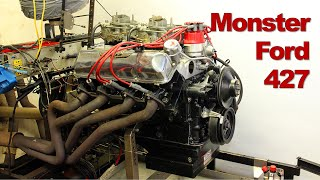 Download Monster Ford 427 Top Oiler Engine Build and Dyno Session Video