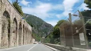 Download Driving From Nice to Monaco Video