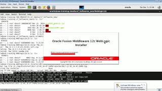 Download Weblogic 12c Installation in GUI mode on Linux Video