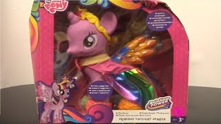 Download Merry Christmas Princess Twilight Sparkle Alicorn Princess MLP Friendship Is Magic Video