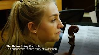 Download What a String quartet in residence does: the Villiers Quartet at Oxford Video
