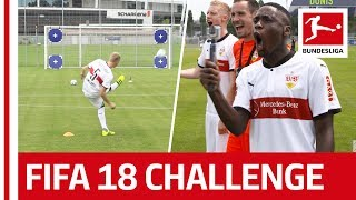 Download Record Breakers and Surprises - EA Sports FIFA 18 Bundesliga Free Kick Challenge - VfB Stuttgart Video