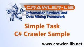 Download C# Crawler Task - Crawl Website, Extract Links with HtmlAgilityPack- Crawler-Lib Framework Video