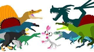 Download Funny Dinosaurs Cartoons - DinoMania | Dinosaurs and FNAF | Dinosaurs Dragons Godzilla Cartoons Video