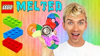 Download MELTING LEGO FIDGET SPINNER!! Video