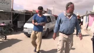 Download Mit Kilian Kleinschmidt durch das UNHCR-Flüchtlingslager Zaatari Video