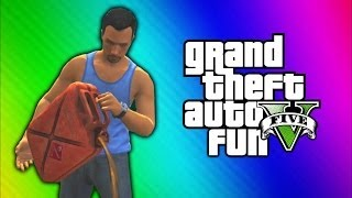 Download GTA 5 Online Funny Moments - Car Pile Explosion, Dump Truck Glitch, Would You Look at That! Video