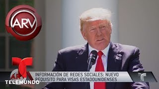 Download Polémica por nuevos requisitos para pedir visa a EE.UU. | Al Rojo Vivo | Telemundo Video