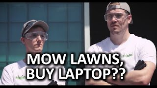 Download Summer Job Mowing Lawns - Can you Earn a Laptop? Video