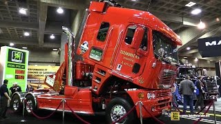 Download 2009 Freightliner Argosy - 24 Cylinder 2600hp Truck - Walkaround - 2015 Expocam Montreal Video