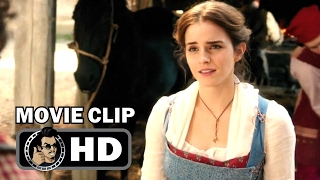 Download BEAUTY AND THE BEAST Movie Clip - ″Bonjour Belle″ + Trailer (2017) Emma Watson Disney Movie HD Video