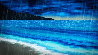 Download Rain & Ocean Sounds | Sleep, Study, Focus | 10 Hours White Noise Video