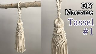 Download [Eng sub] DIY Macrame Tassel #1 / 마크라메 태슬 #1 Video
