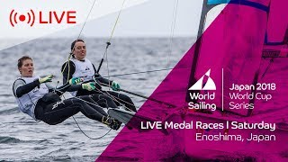 Download LIVE | Sailing's World Cup Series Enoshima, Japan | Medal Races | Saturday 15th September Video