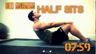 Download 8 Minute Abs (Beep Only) With Jamie Alderton - Grenade Video