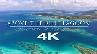 Download 4K FLIGHT ABOVE THE BLUE LAGOON | Fiji Islands Nature Relaxation™ Short Film | DJI INSPIRE1 X5 Video