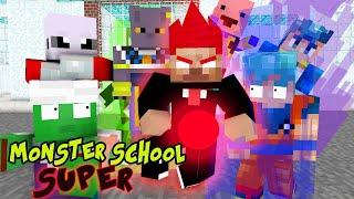 Download Monster School : Dragon Ball Z Transformation - Best Minecraft Animation Video