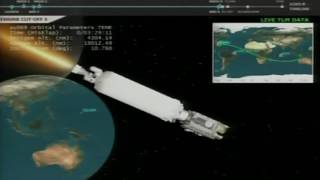 Download Advanced Weather Satellite Separates from Launch Vehicle Video