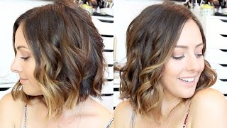Download How To: Curl Hair With A Straightener & Curling Wand! Video