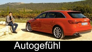 Download Audi A4 Avant Estate/Wagon/Kombi FULL REVIEW test driven quattro all-new neuer 2016 Video