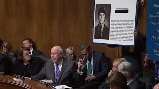 Download Brett Kavanaugh questioned about his high school yearbook Video
